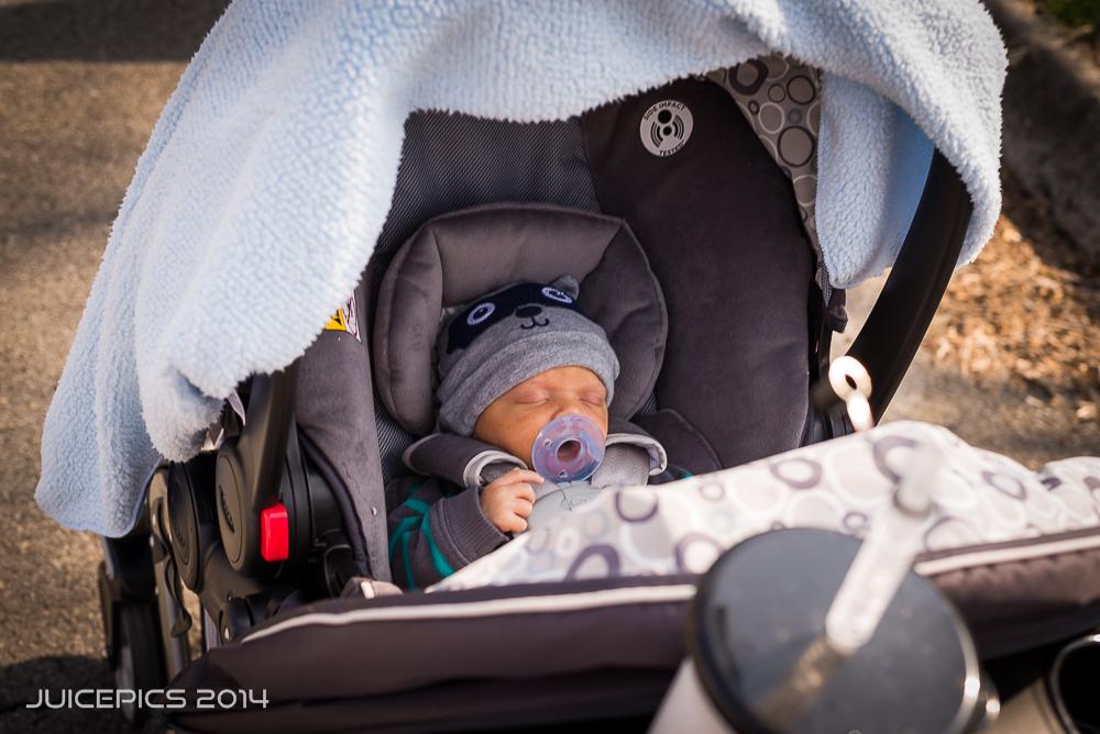 Jaden's First Walk