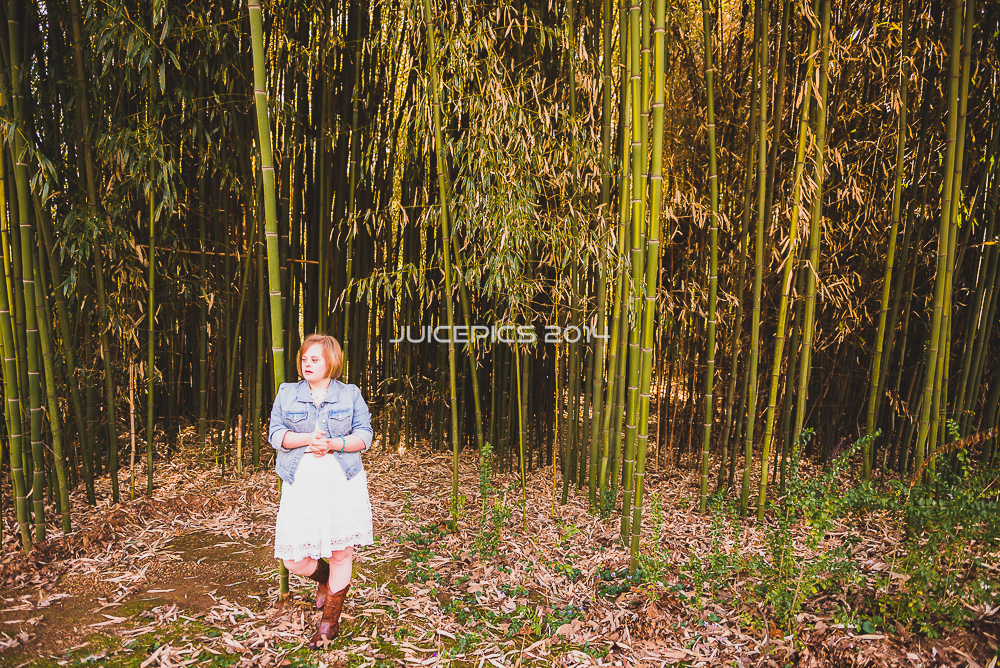 Cami in the Bamboo forest