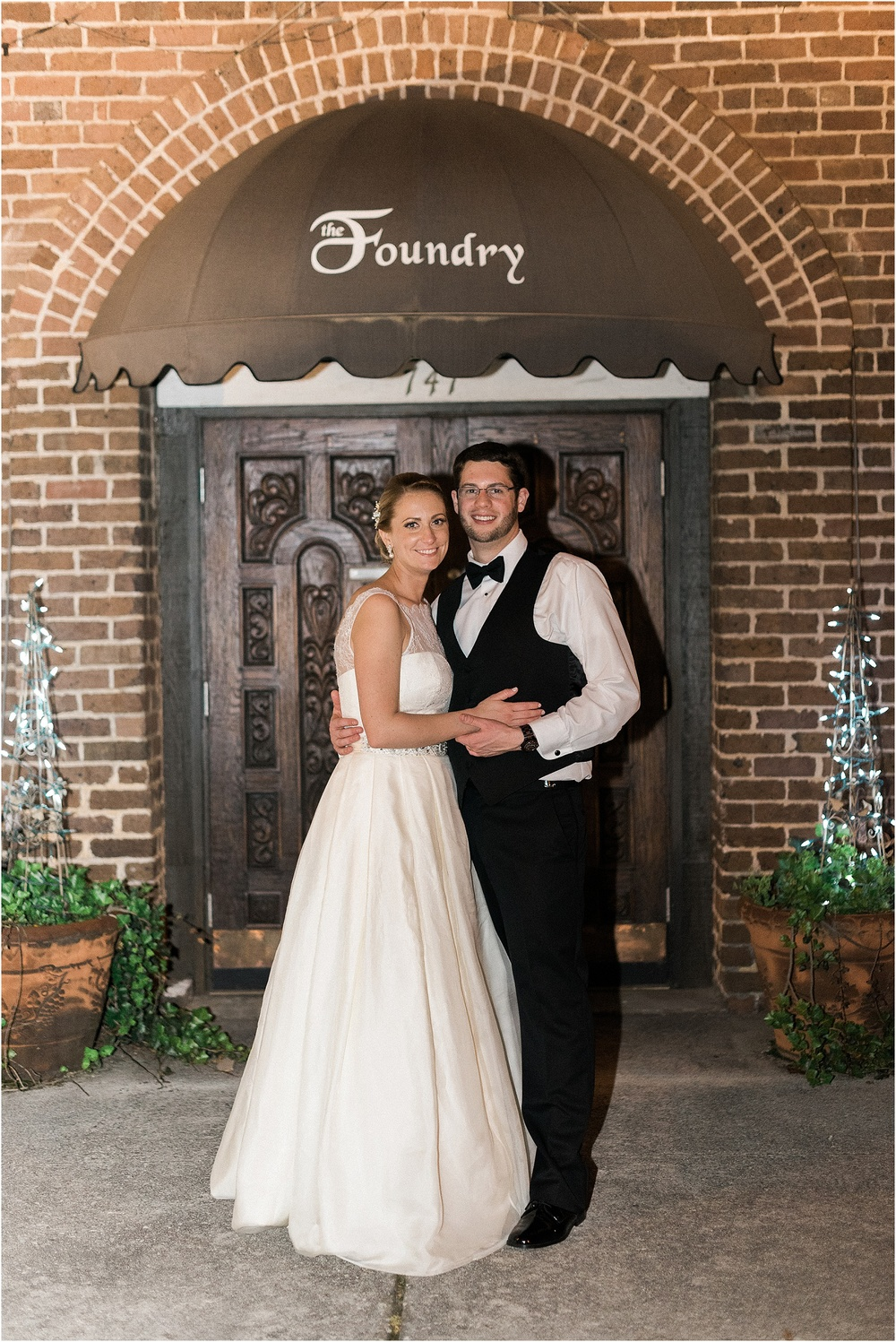 Worlds Fair Park and Foundry Wedding