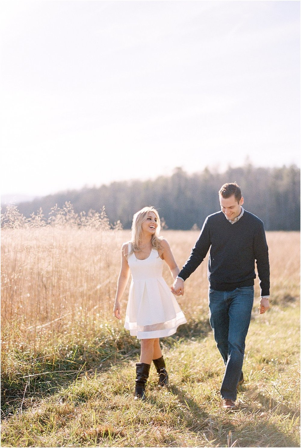 Cades Cove Smoky Mountain Engagement | Robertha & Wes | Smoky Mountain Wedding Photographer