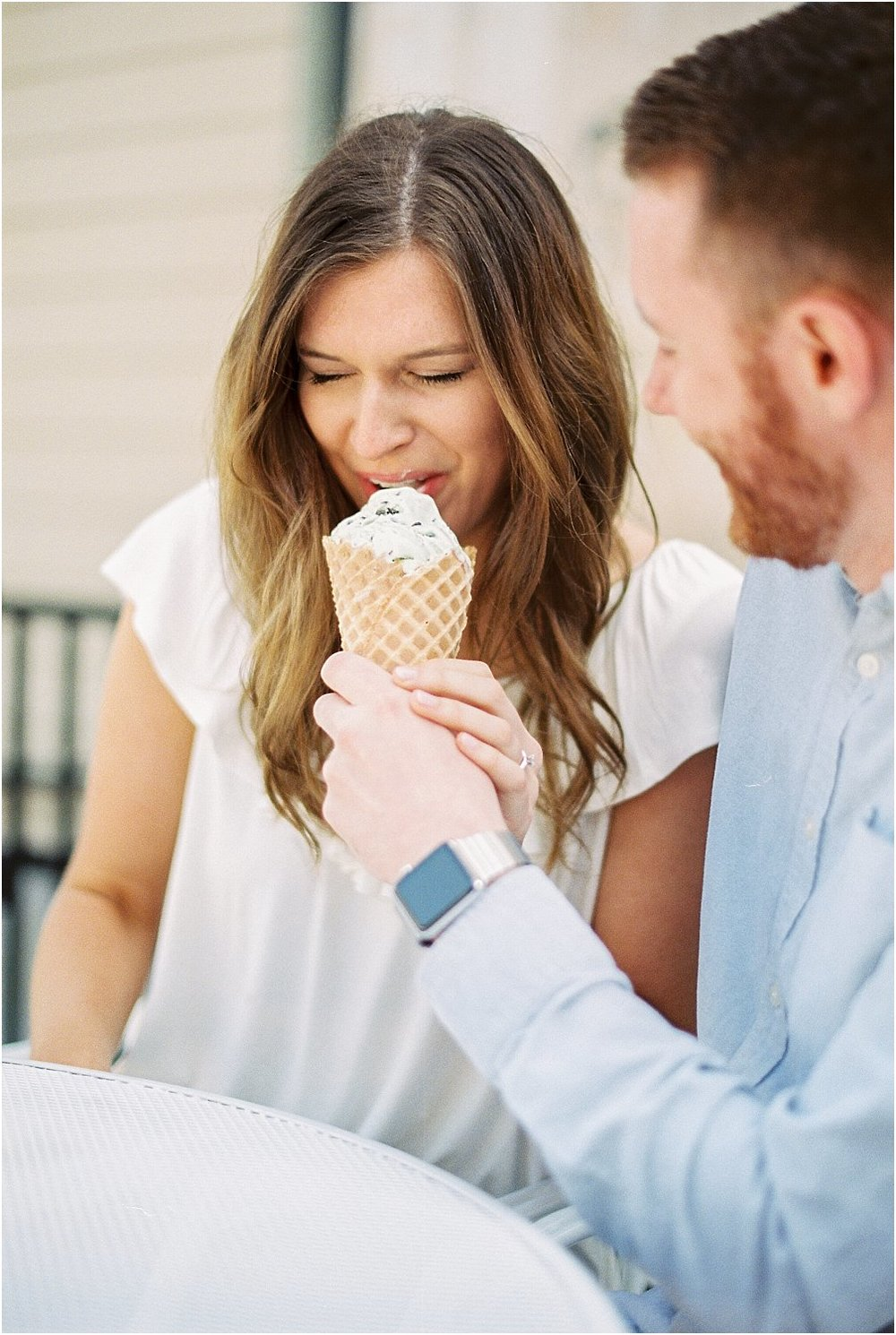 Cincinnati Schneider's Sweet Shop Engagement | Amber & Nathan | Wedding Photographer