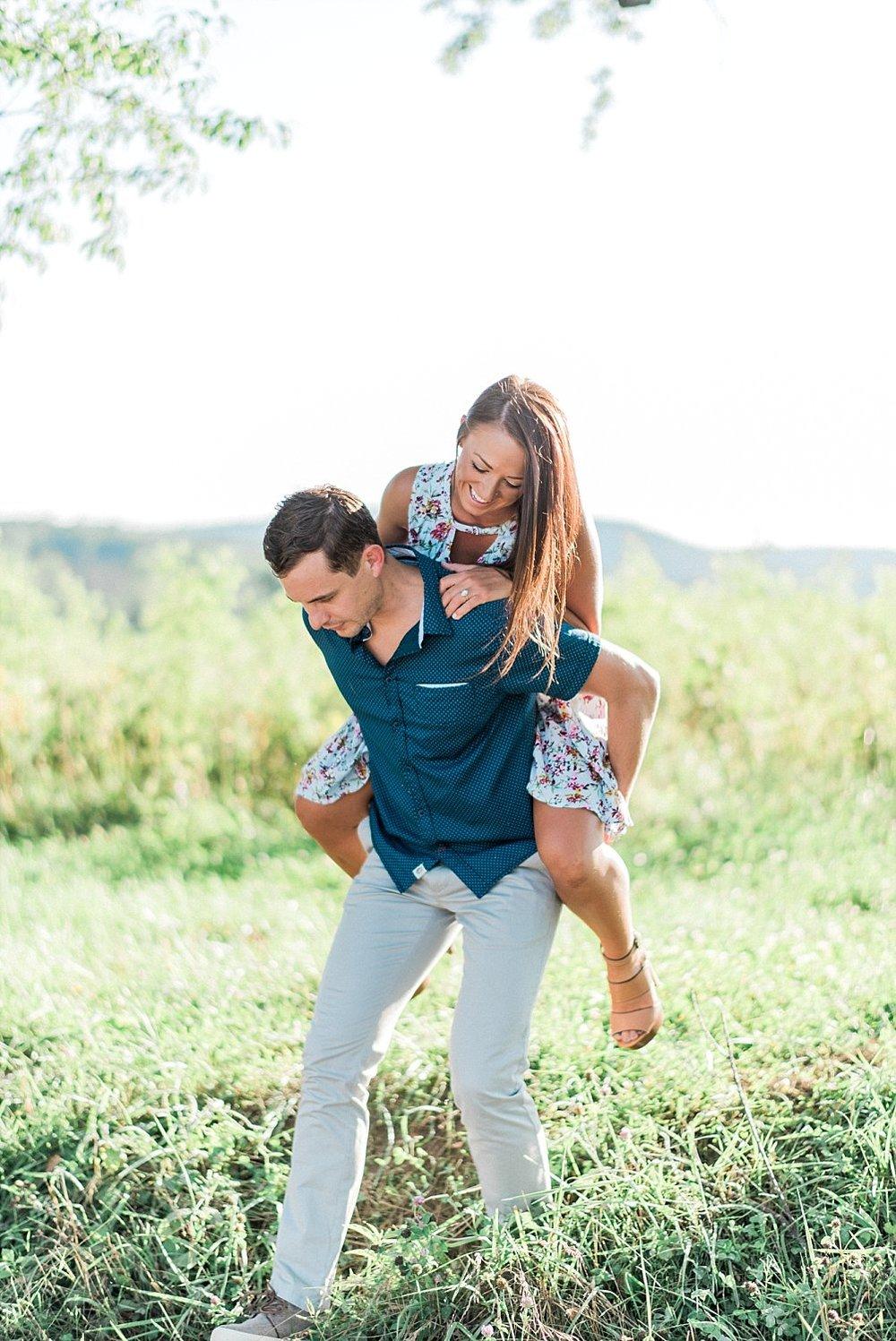 Cades Cove Smoky Mountain Engagement | Alisha & Evan | Gatlinburg Wedding Photographer