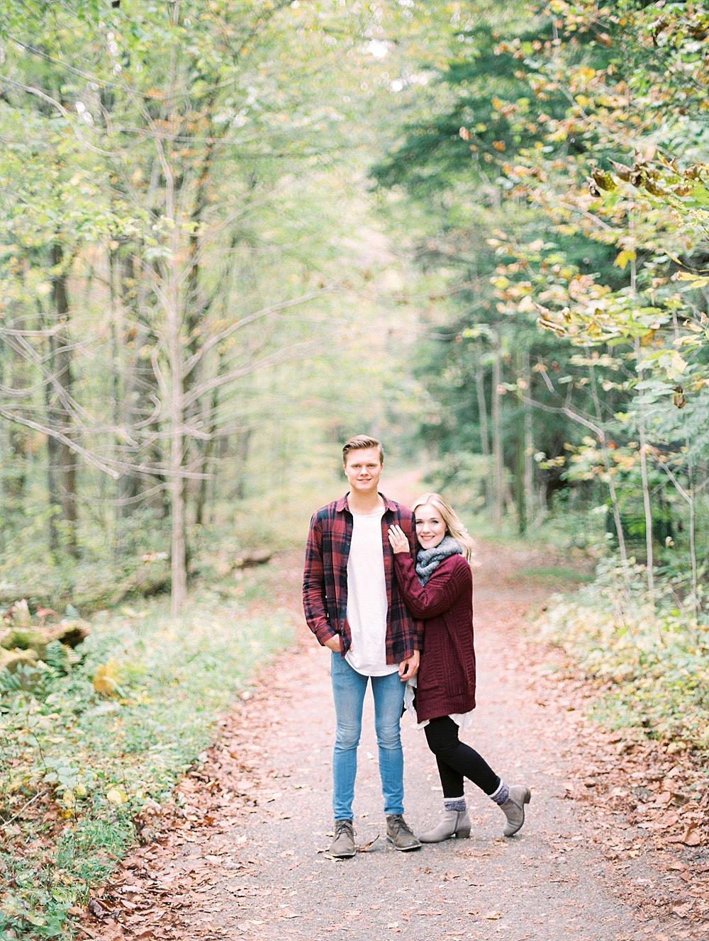 Elkmont & Spence Cabin Great Smoky Mountain Engagement | Olivia + Austin | Gatlinburg Photographer