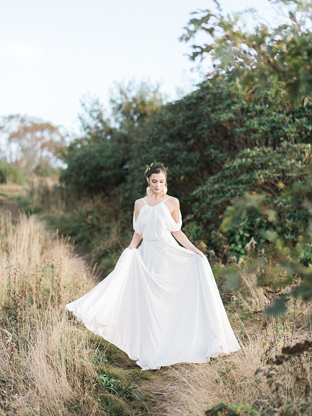 grecian goddess bridal-craggy mountains-asheville-black moutain | Asheville Wedding Photographer