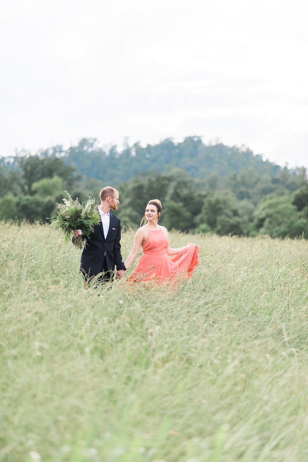 tsali notch vineyard wedding