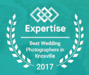 Voted one of Knoxville's   Best Wedding Photographers