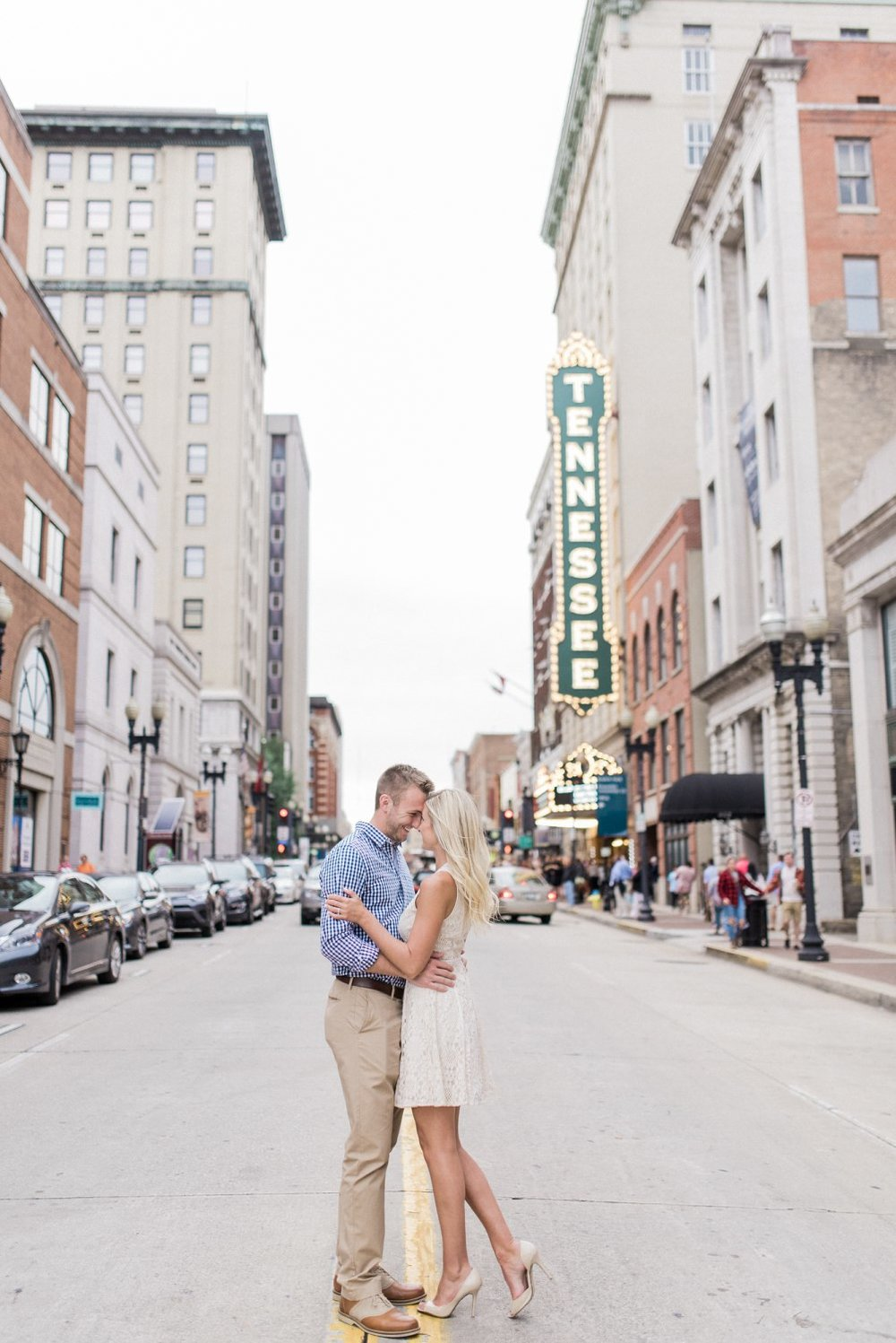 Downtown Knoxville Engagement | Kayla & Derick