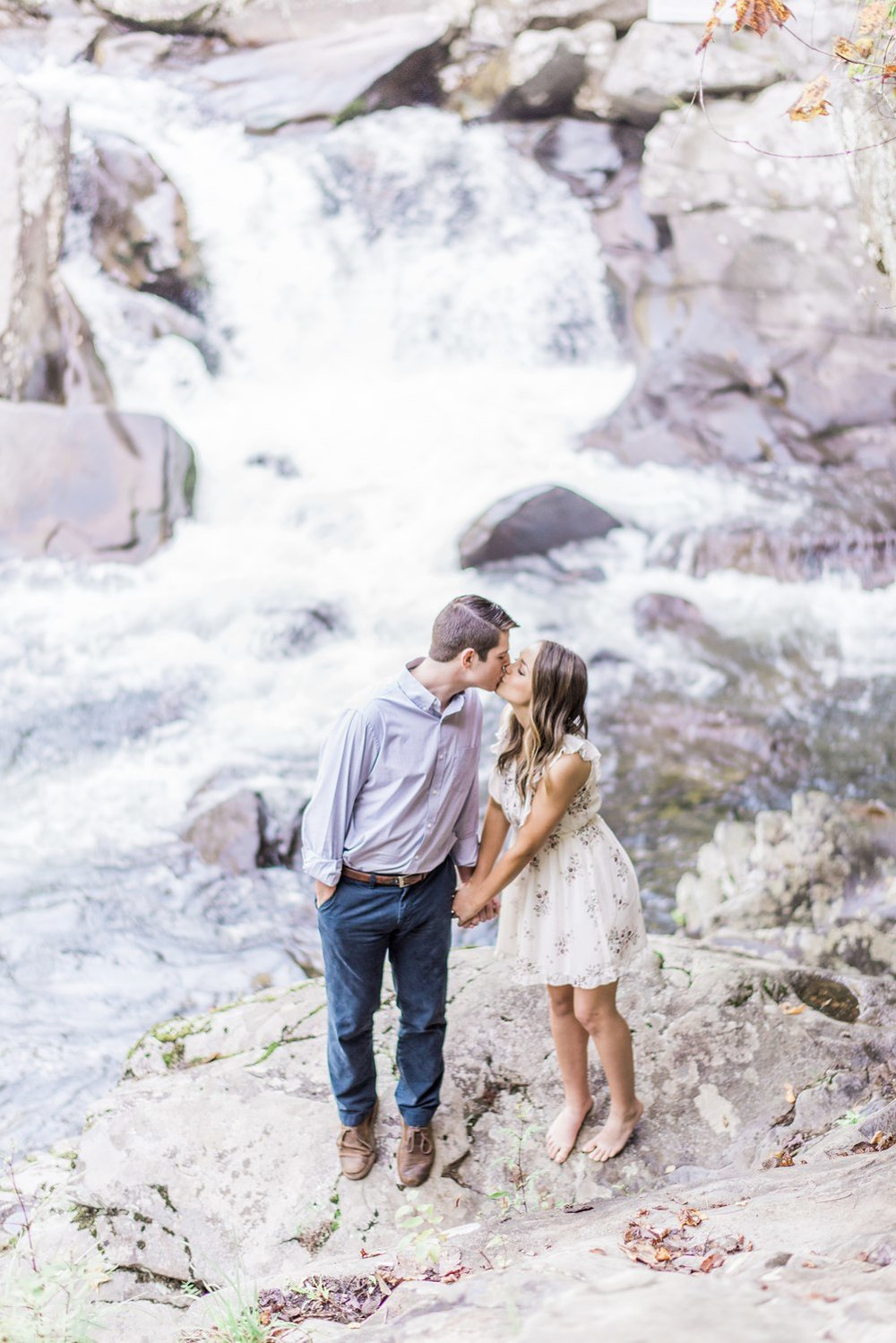 The Sinks & Gatlinburg Engagement | Emily & James