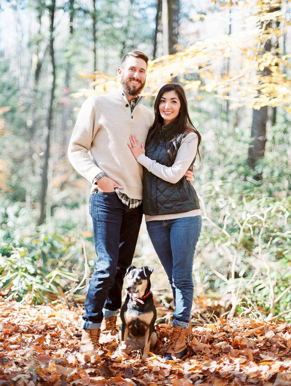 Elkmont | Spence Cabin Engagement | Stephanie & Addison