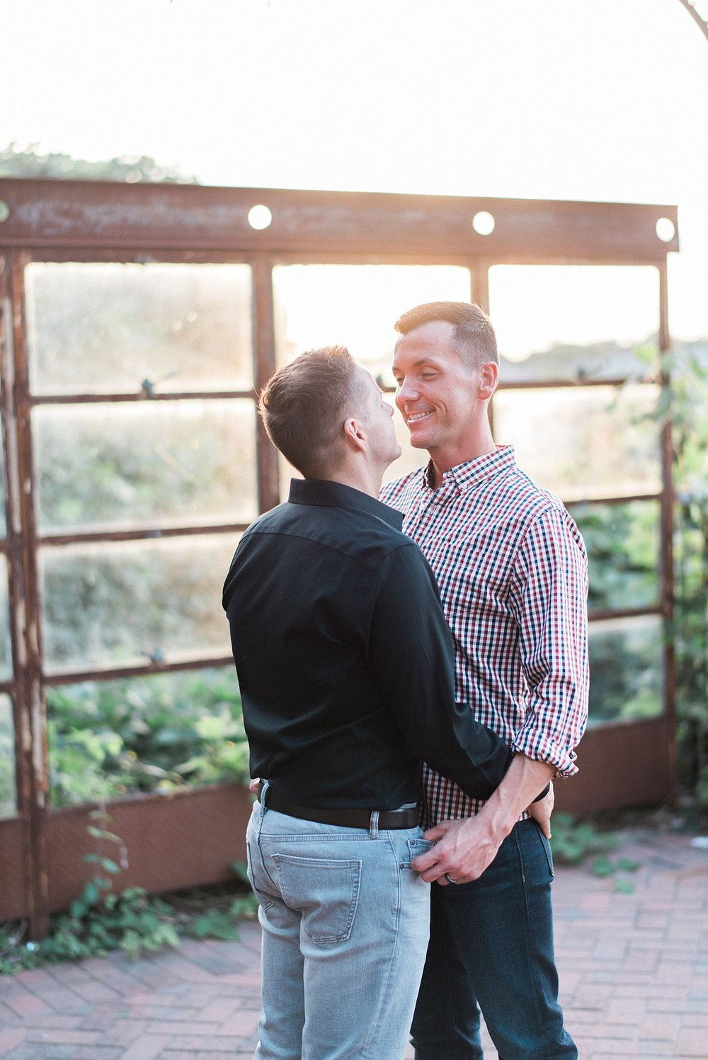 Knoxville Botanical Gardens Engagement | Cory & Matthew