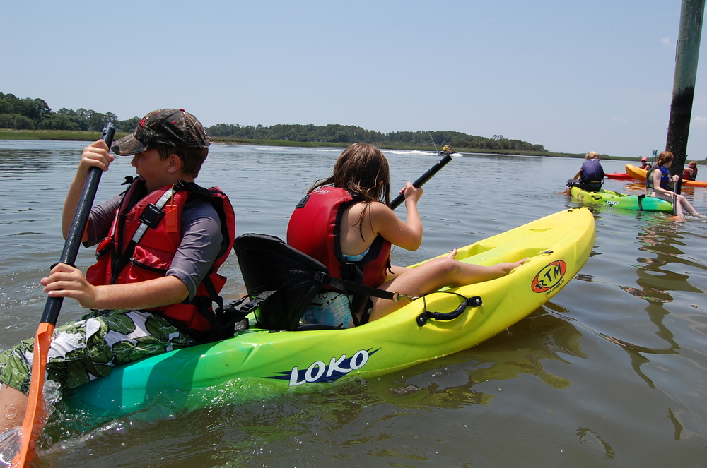 Savannah kayak camp kids.JPG