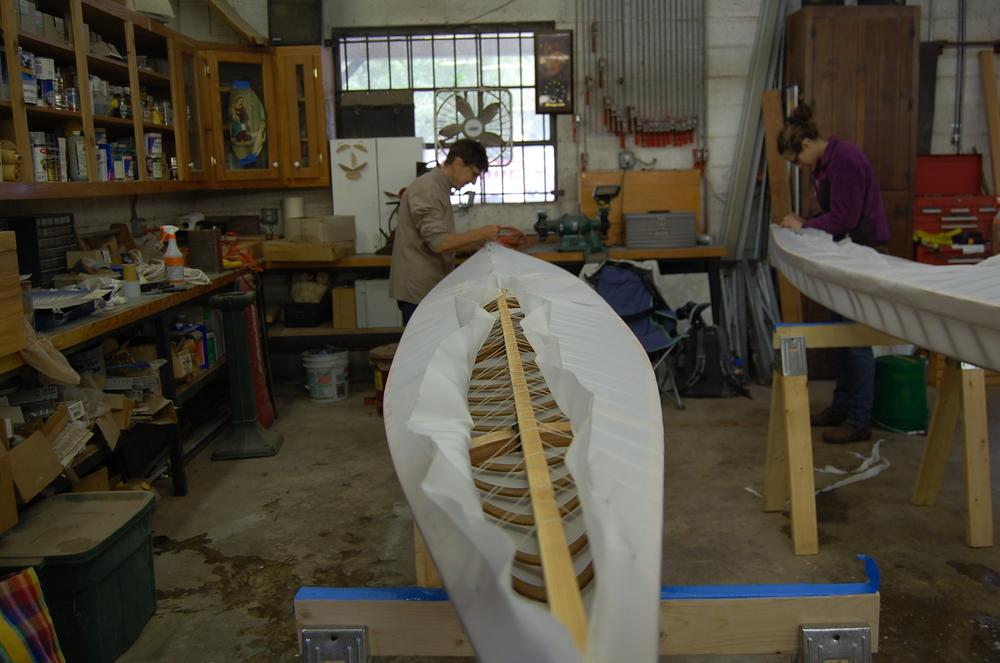Savannah Kayak Building Class
