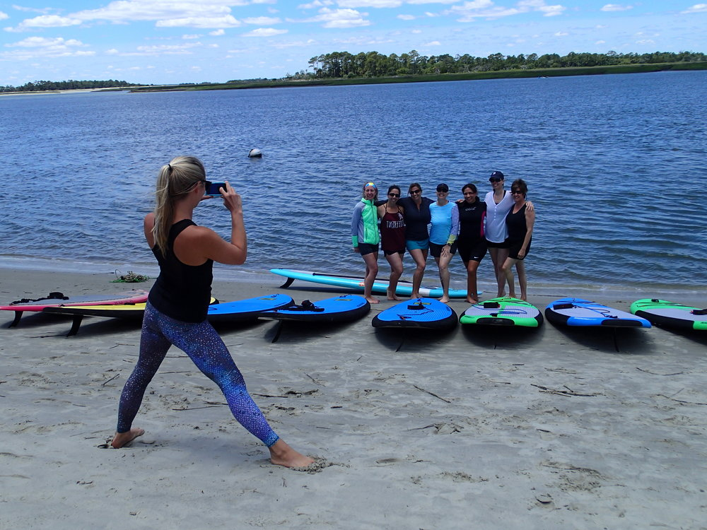 SUPing on Tybee.JPG