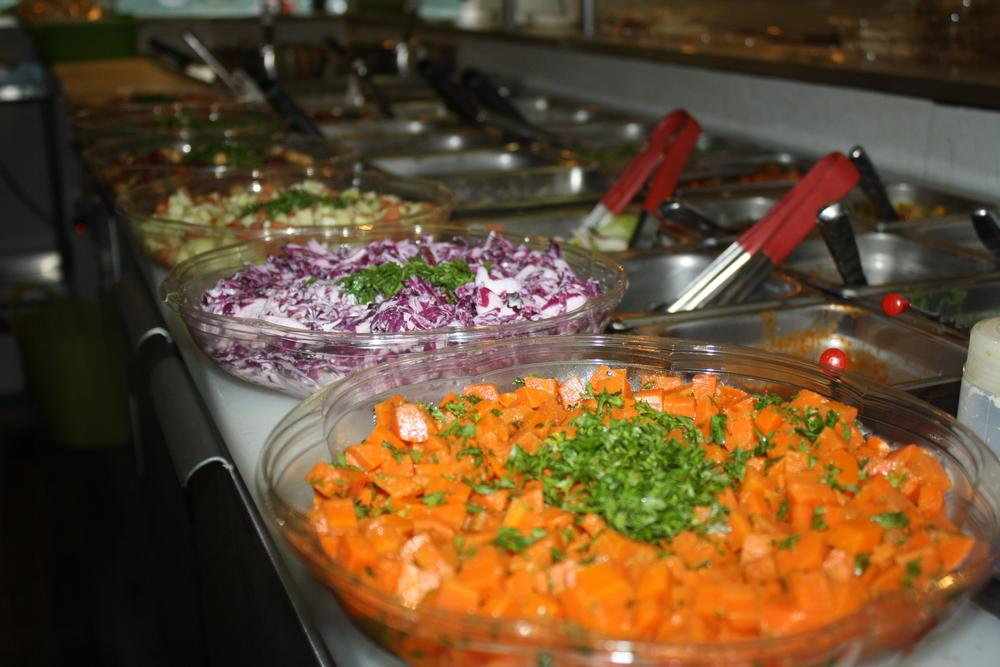 Salads from The Green Chicpea