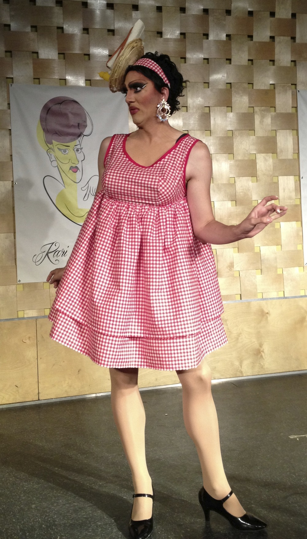 Picnic Babydoll Dress