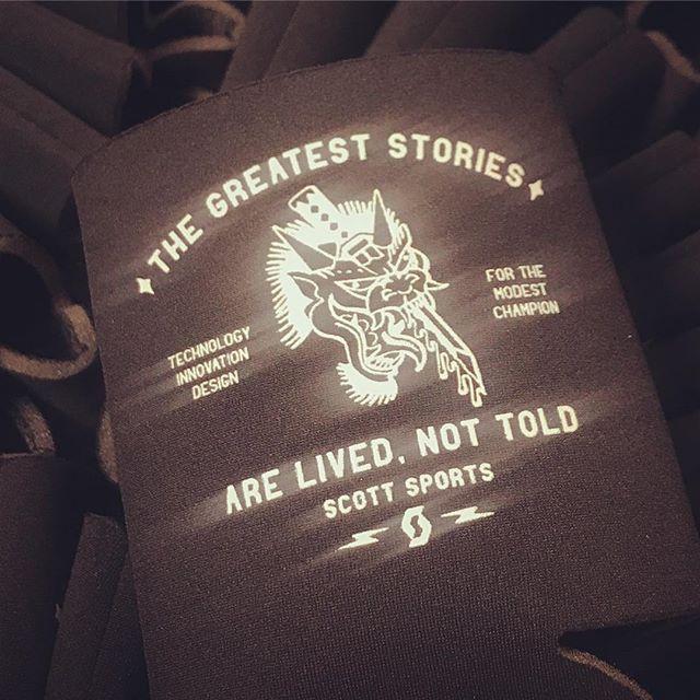 Starting to swag up for @seaotterclassic - @bikeonscott #noshortcuts #thegreateststories