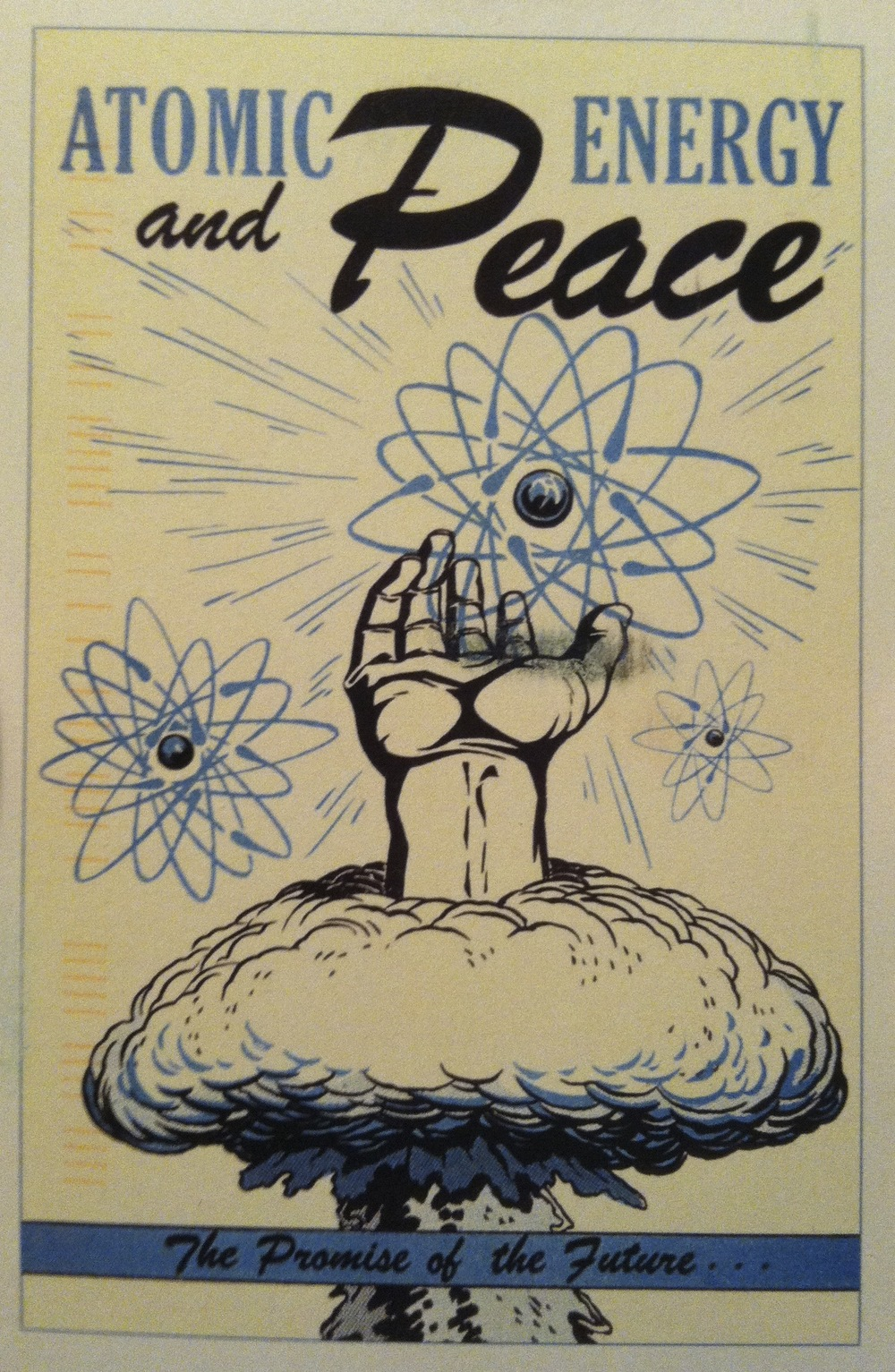 Atomic Energy and Peace postcard