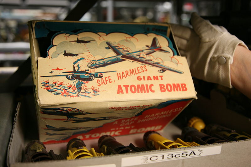 Giant Atomic Bomb Toy