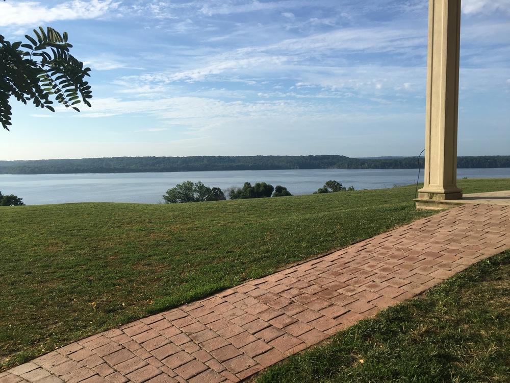 Mount Vernon Back Porch
