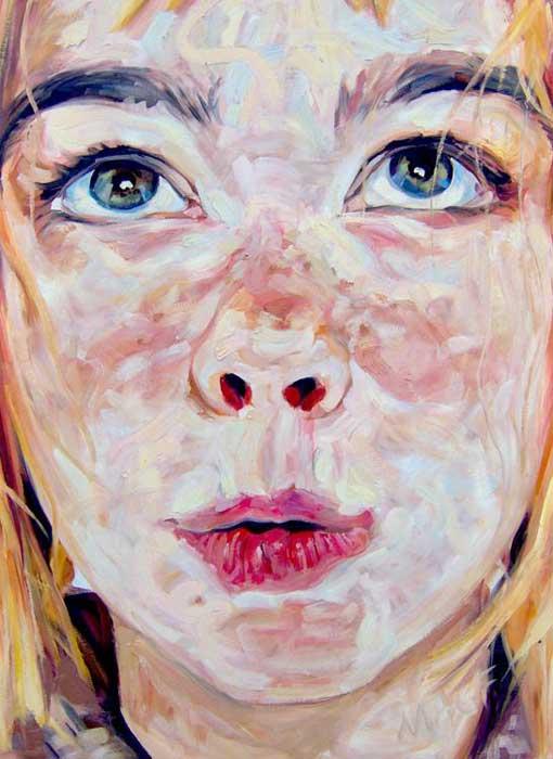 Retrato y figura / Portrait and figure BJORK CLOSE UP M.A.Garrido