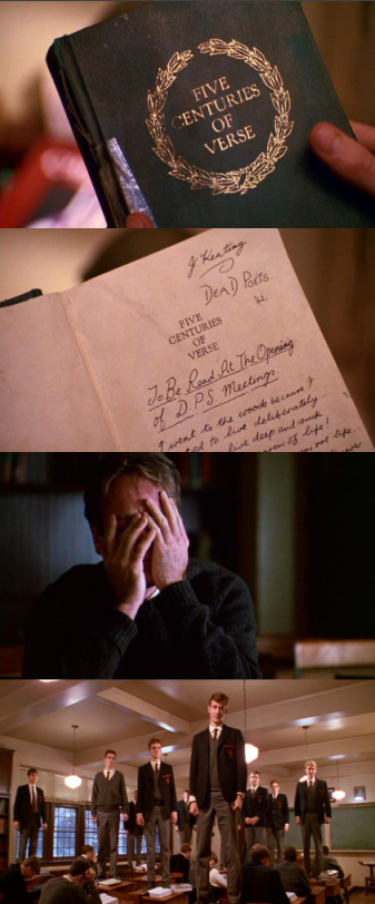 moviesinframes :    Dead Poets Society , 1989 (dir. Peter Weir)