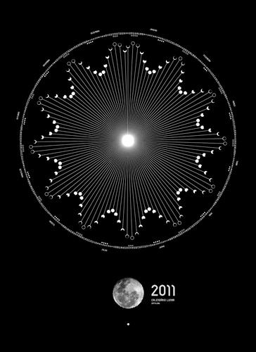 Surfstation - Inspiration becomes Innovation Lunar calendar 2011