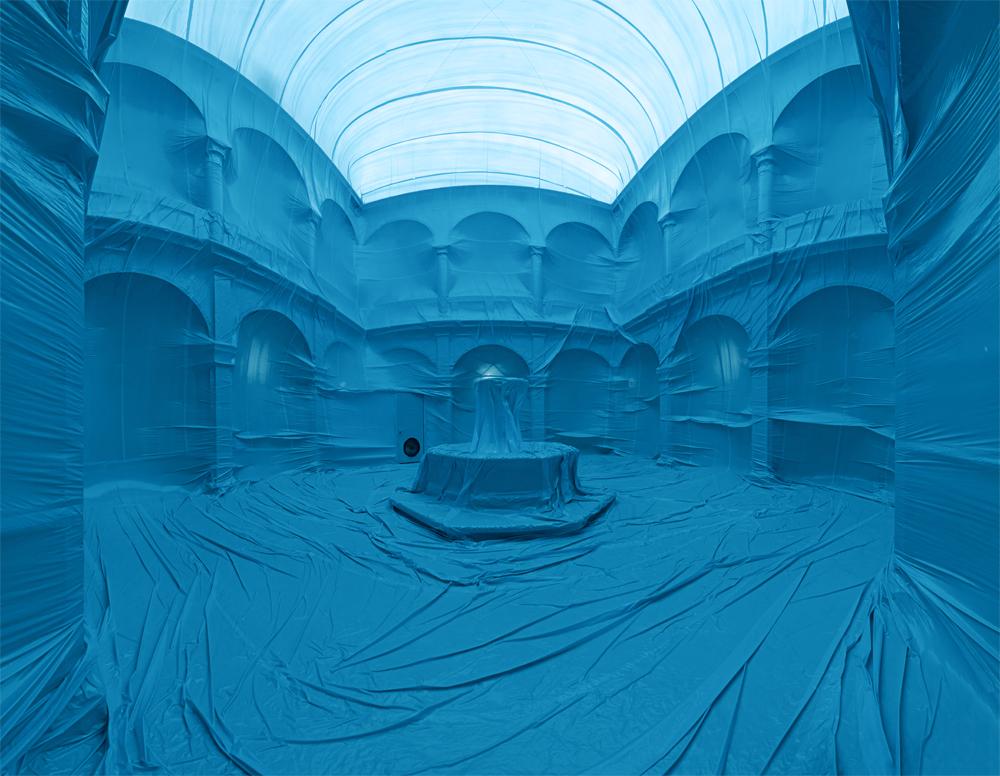 iheartmyart :      Penique Productions , El claustro , CutOutFestival 2011, 10m x 10m x 11m   Museo de la Ciudad, Guerrero 27, Norte Centro Histórico,  Querétaro, Qro.  76000 México   10th of November- 10th of December 2011. Querétaro, México