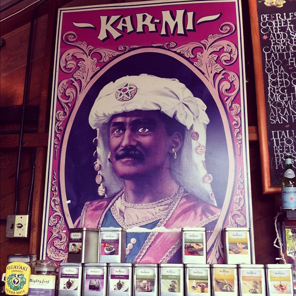 Karmi raja tea at cafe Flore - The Castro (Taken with  instagram )