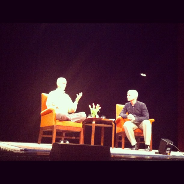 The Neurosience of Zen. Amazing talk about the Self and Reality  (Taken with  instagram )
