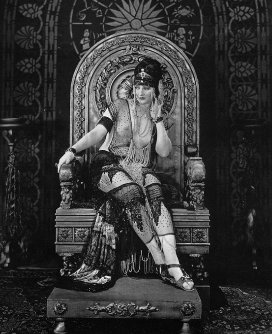 thatbohemiangirl :      My Bohemian History    Betty Blythe in  The Queen of Sheba,  1921