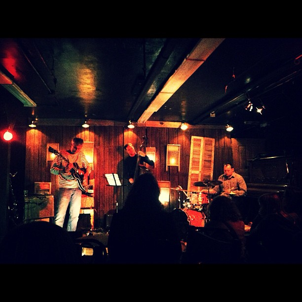Stumbled into this underground jazz bar yesterday night. Such a delight  (Taken with  instagram )