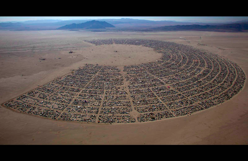 7 DAYS!!! - Burning Man - IDEATE on how to be human in this reality.