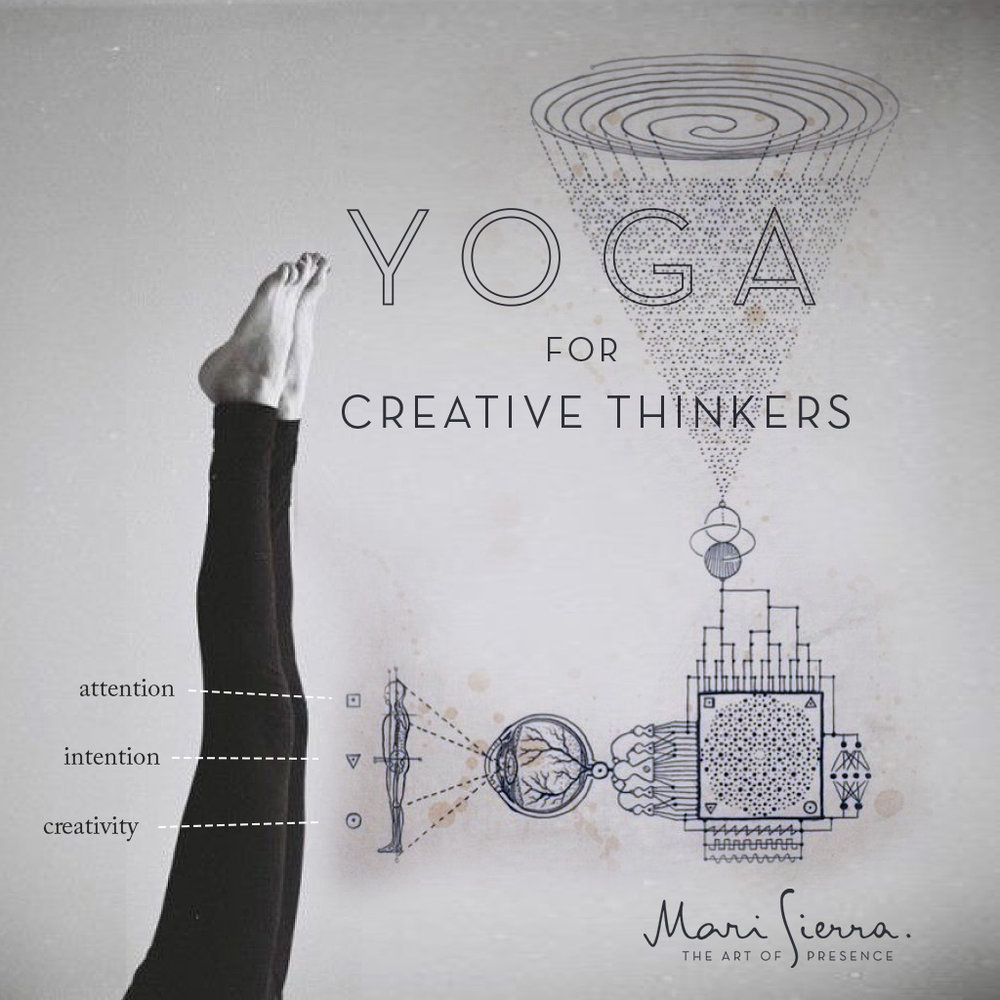 Poster designed for yoga workshops, SF 2014