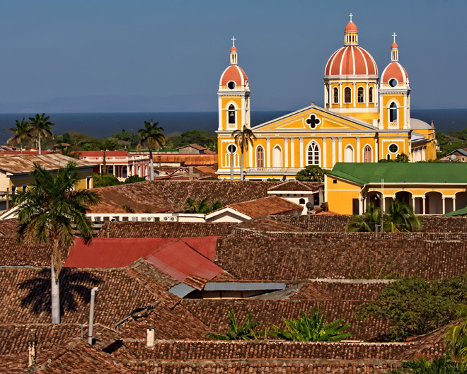 Granada - one of Nicaragua's most important cities, economically and politically. It has a rich colonial heritage, seen in its architecture and structure.