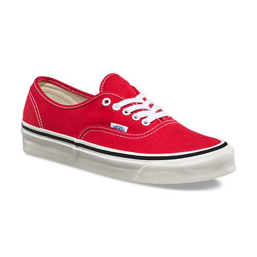 cd364332c94 Vans - Anaheim Factory Authentic 44 DX - Racing Red — Glide Surf Co ...