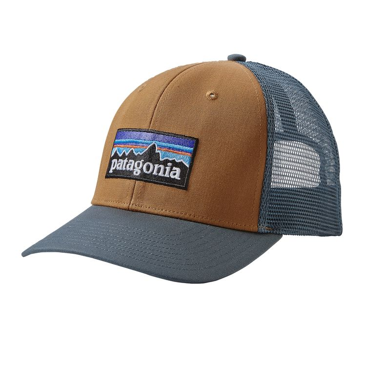 Patagonia P-6 Trucker Hat - Sediment — Glide Surf Co  9ee4d3bd9bb