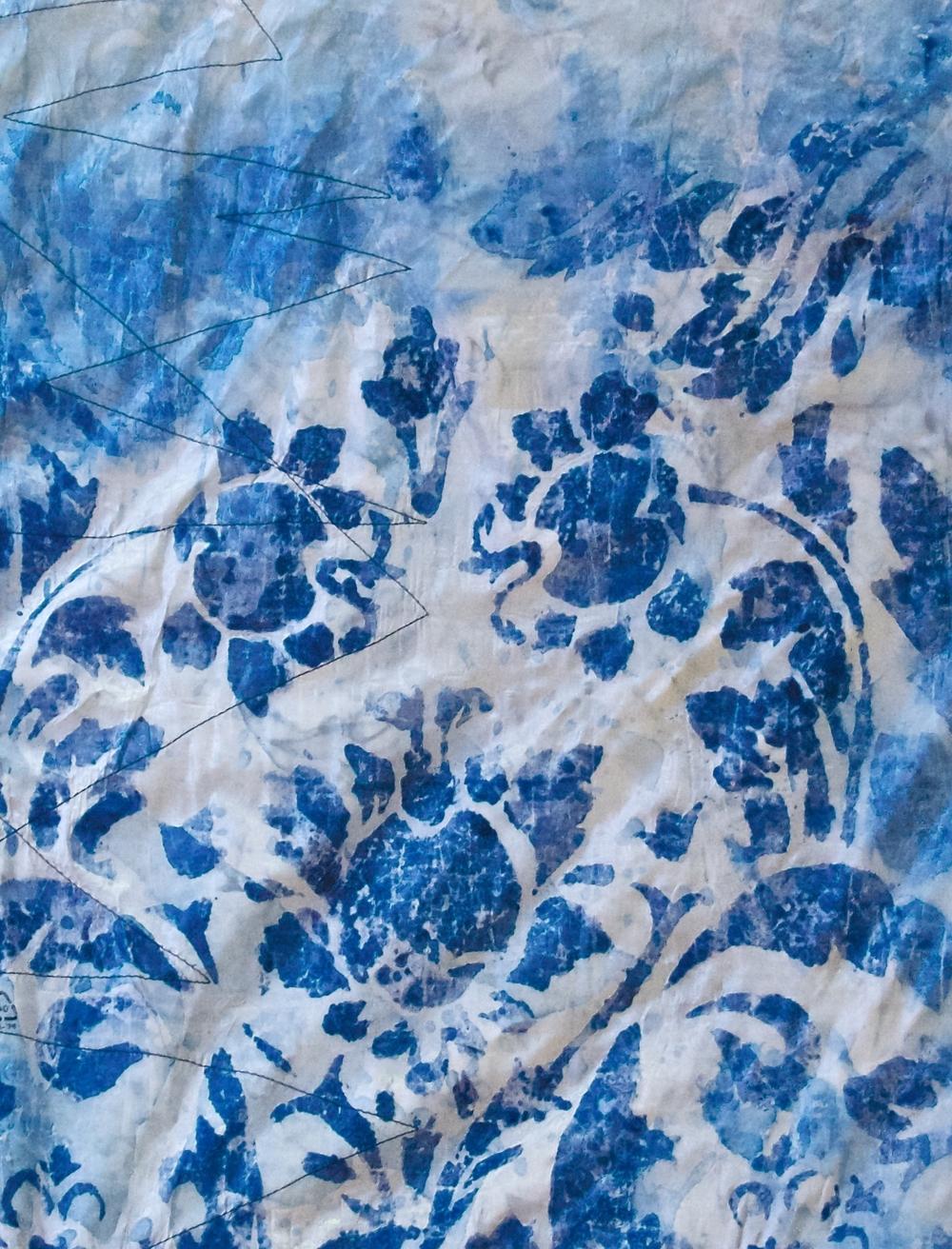 Sheer Blue Print