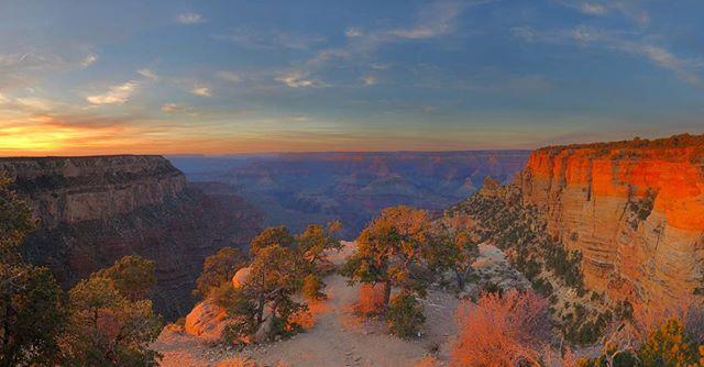 Utterly breathtaking.... #nofilter #sunset #grandcanyon #arizona #USA