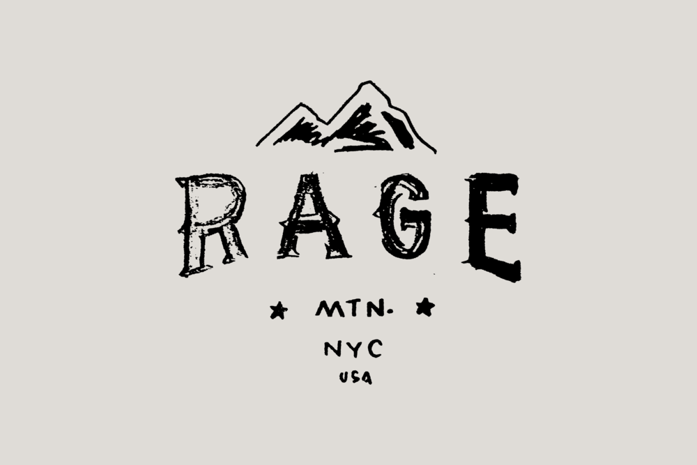Rage Mountain Type Treatment - Daniel Patrick Simmons