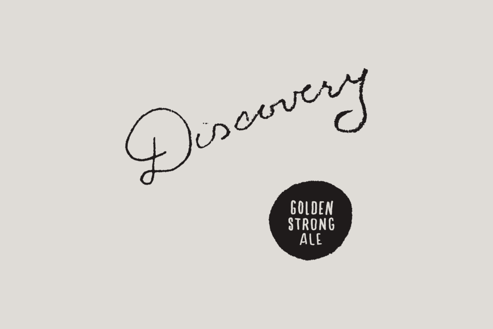 Discovery Label Artwork - Daniel Patrick Simmons
