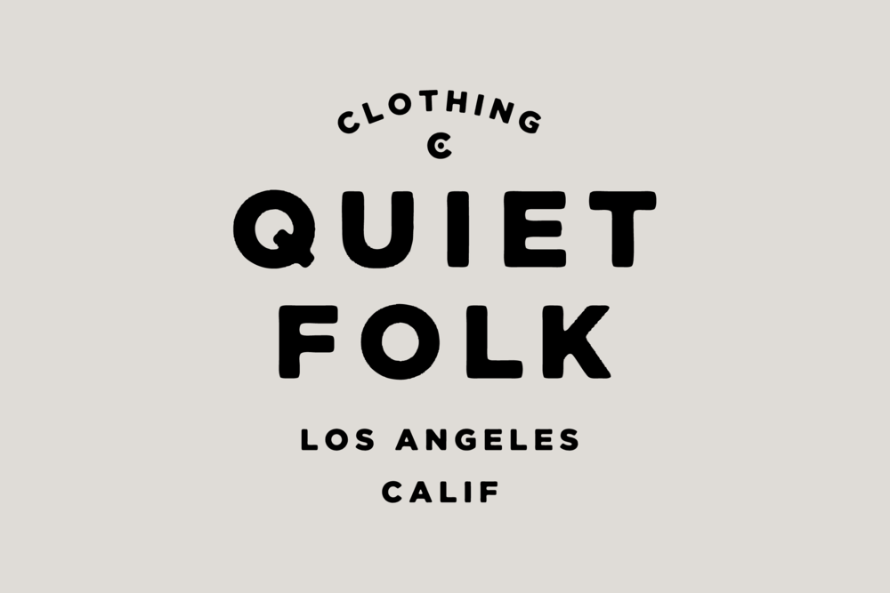 Quiet Folk Type Treatment - Daniel Patrick Simmons