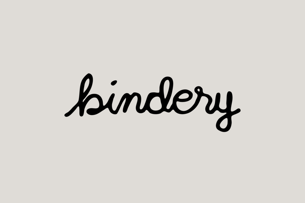 The Bindery Logo - Daniel Patrick Simmons