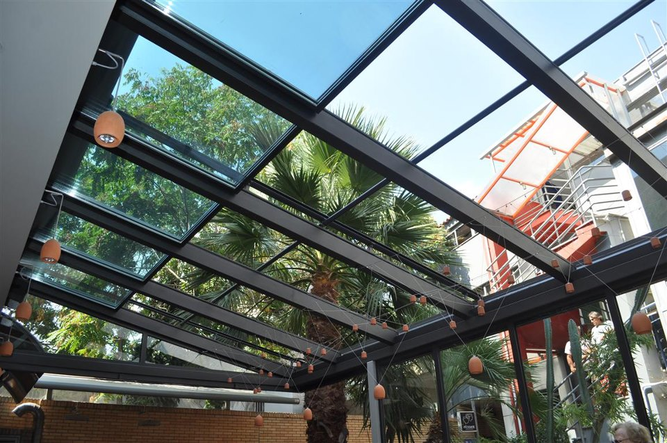 CTglass Slide opening glazed roof