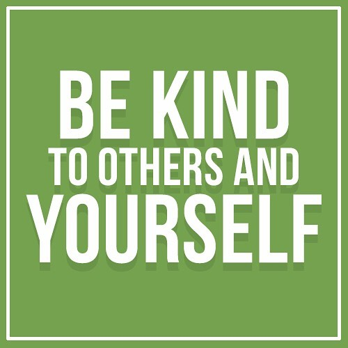 Words to live by. We all need more love and #kindness in the world today. 💕