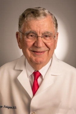 George Bohigian, Professor of Clinical Ophthalmology in the Department of Ophthalmology and Visual Sciences, Washington University School of Medicine.
