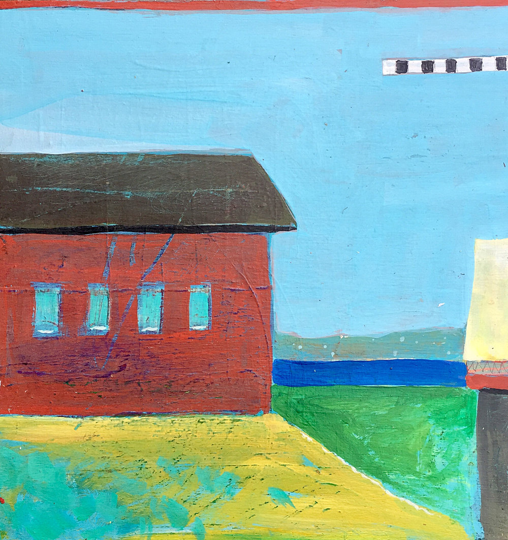 (SOLD) Red Barn