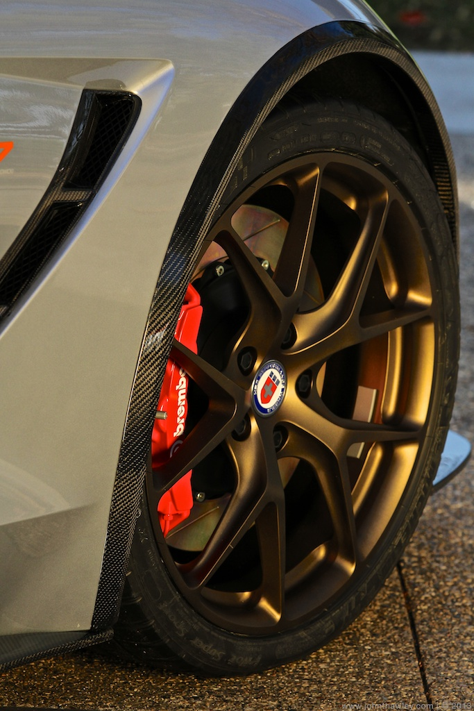 HRE Satin Bronze finish wheels