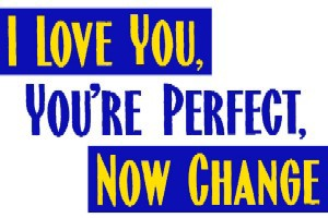 I LOVE YOU, YOU'RE PERFECT, NOW CHANGE - Barestage Productions