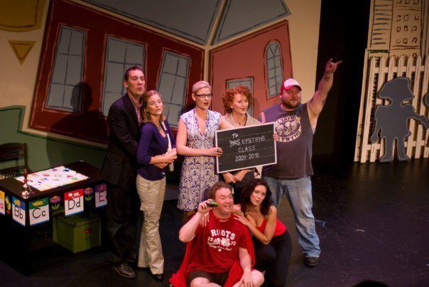 "Cast of ""Nursery School Musical"" (Fence Post Productions)  *Photo by Racheal Mccaig"