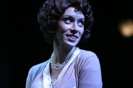 "Hope Cladwell in ""Urinetown the Musical"" (The Belfry Theatre)  *Photo by Tim Matheson"
